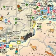 Bled - doživetja - tematska karta