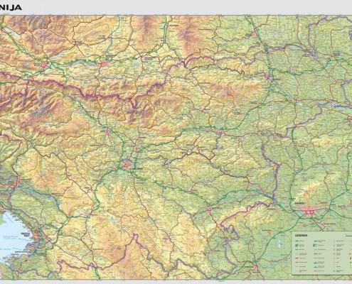 stenska karta Slovenija