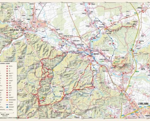 Občinska karta Medvode