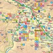 Bled - šport - tematska karta