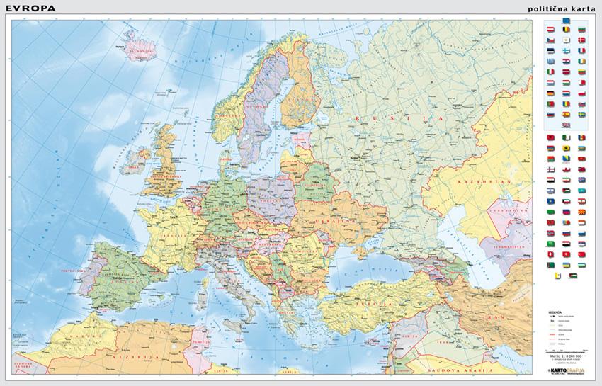 Stenske Karte Kartografija D O O
