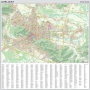 stenska karta Ljubljana