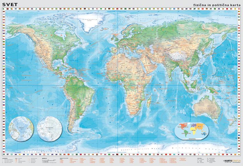 karta sveta prodaja Stenske karte   Kartografija d.o.o. karta sveta prodaja