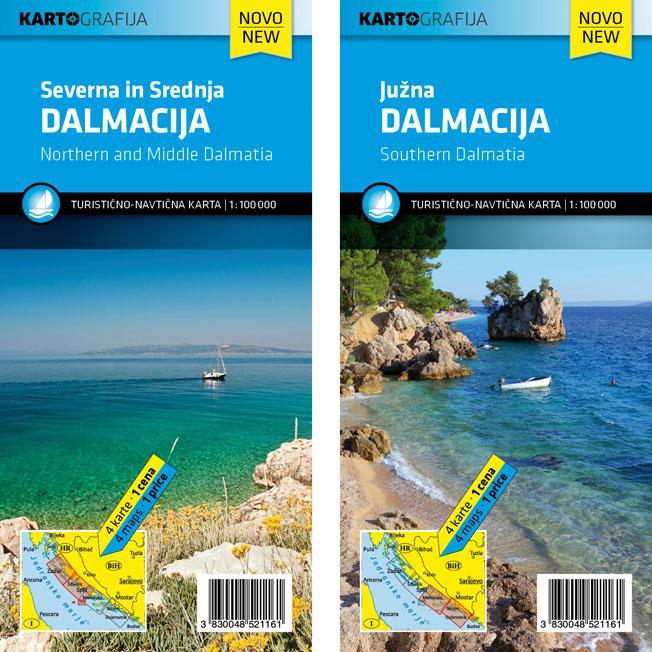 Karta dalmacija Želite posjetiti
