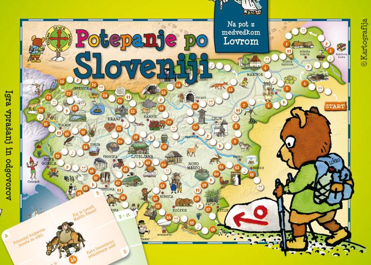 Potepanje po Sloveniji