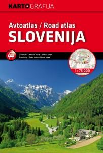Avtoatlas Slovenija 1 : 75 000